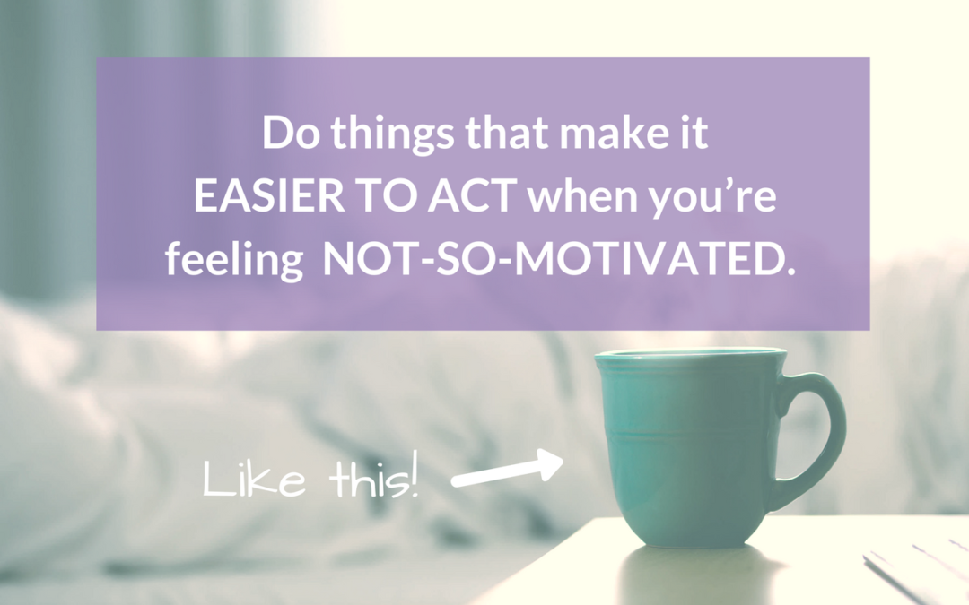 how to motivate yourself to do things